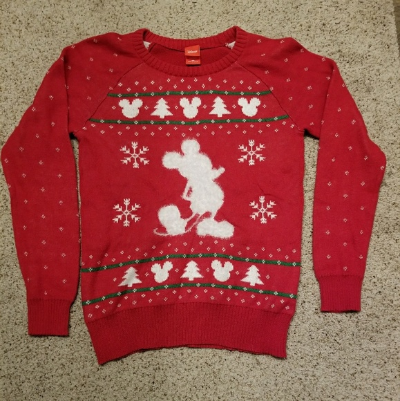 mickey mouse disney christmas sweater - Mickey Mouse Christmas Sweater